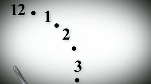 Dinnertime Clock Seamless Animation