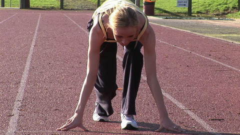 Track Field Athletics Footage