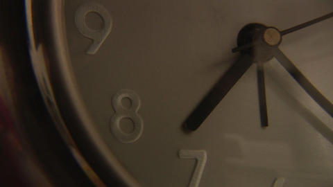 Clock Showing Time Passing Footage