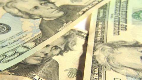 Dollars Bills Stock Video Footage