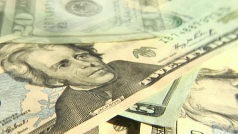 Dollars Bills Footage