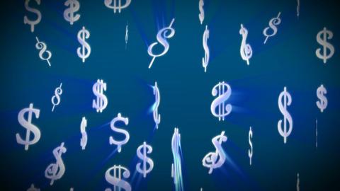 Dollars Seamless Footage