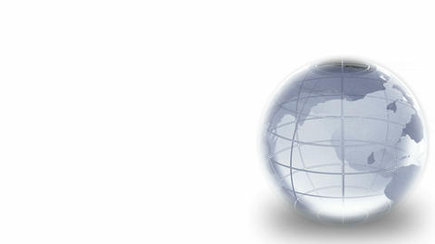 Glass Globe Seamless Animation
