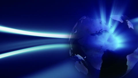 Night Globe background Seamless Stock Video Footage