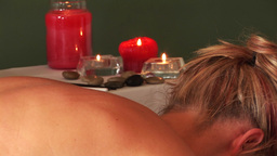 Back Massage Stock Video Footage
