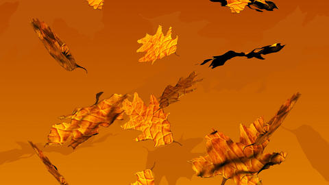 Autumn Leaves Animation