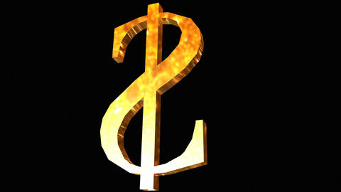 Spinning Dollar Stock Video Footage