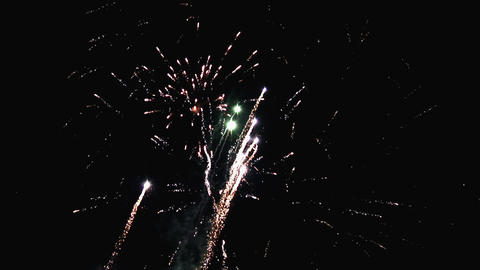 FIREWORKS 2 Stock Video Footage