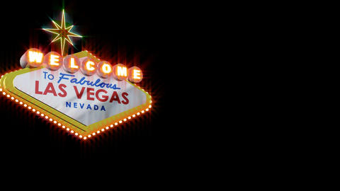 LAS VEGAS SIGN 2 Footage