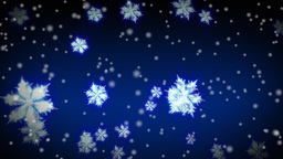 Winter Snowflakes and snow Animation