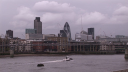 View of London City Footage
