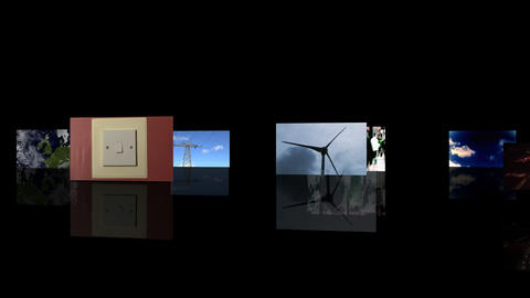 Renewable Energy Montage Animation