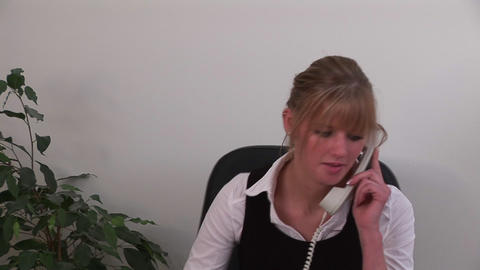 Businesswoman working from home Stock Video Footage