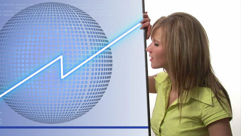 Stock Market Animation Concept 5 Stock Video Footage