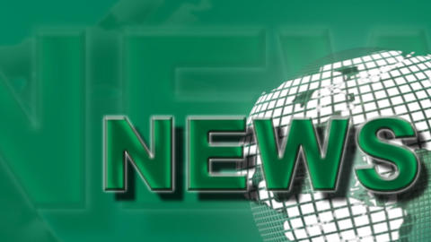 News Broadcast Green Zoom Animation