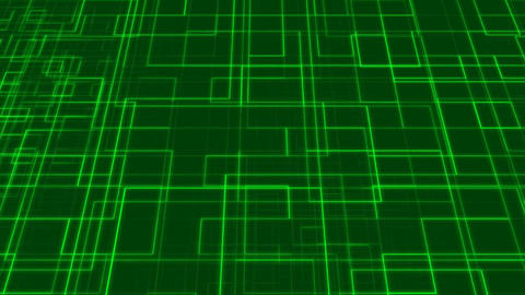 Laser Wire Green Animation