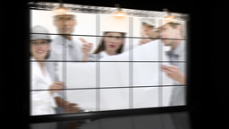 A meeting of architects in a company Animation