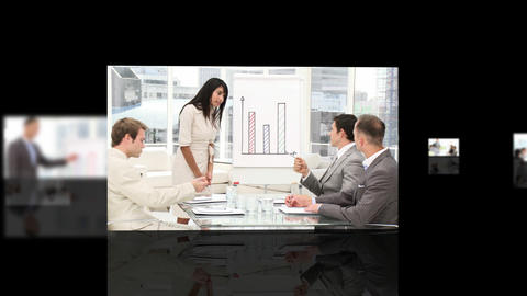 Business presentation Animation