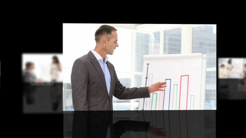 Business presentation Stock Video Footage