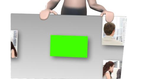 3d composite animation Animation