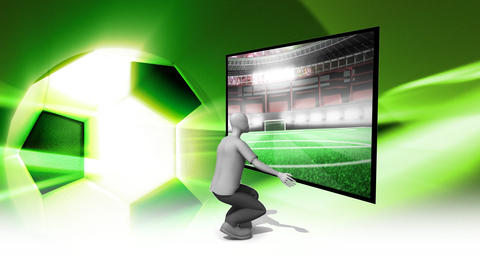 Football Goal Animation