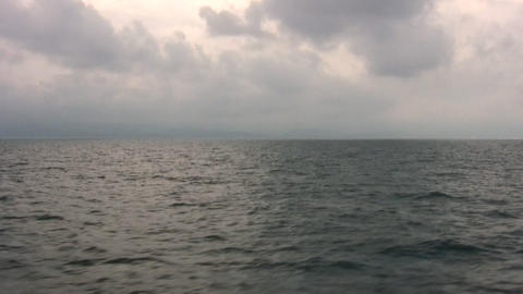 fly over sea Stock Video Footage