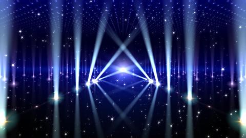 Floor Lighting AfB1 Stock Video Footage