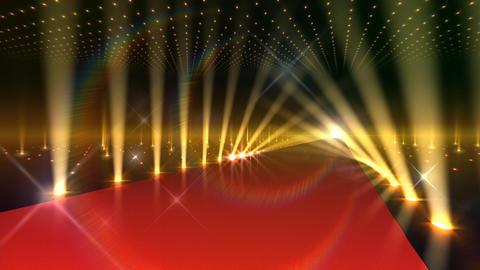 Floor Lighting AnC1 Stock Video Footage