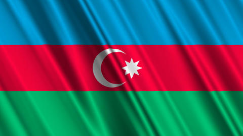 AzerbaijanFlagLoop01 Animation