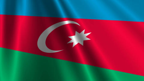 AzerbaijanFlagLoop03 Animation