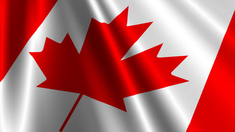 CanadaFlag03 Stock Video Footage