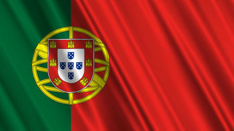 PortugalFlagLoop01 Animation