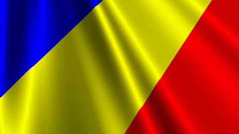 RomaniaFlagLoop03 Animation