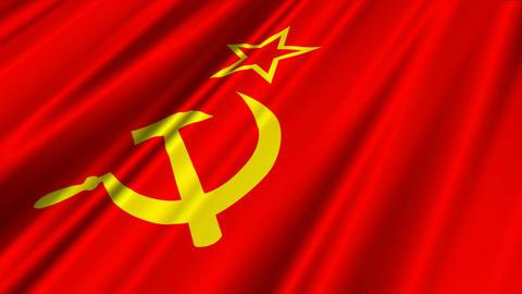 SovietFlagLoop02 Animation