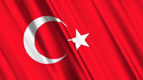 TurkeyFlagLoop01 Animation