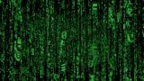 Matrix Code Fly LOOP stock footage