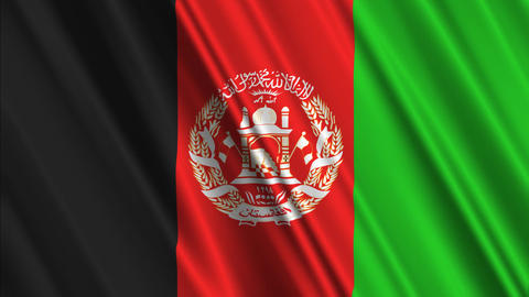 AfghanistanFlagLoop01 Animation