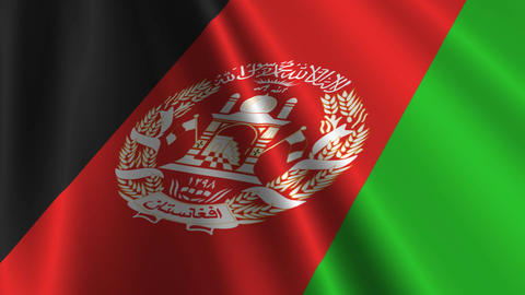 AfghanistanFlagLoop03 Animation