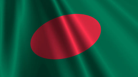 BangladeshFlagLoop03 Animation