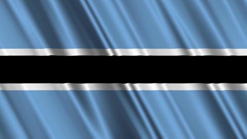 BotswanaFlagLoop01 Animation