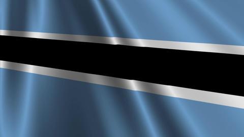 BotswanaFlagLoop03 Animation