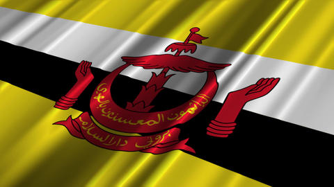 BruneiFlagLoop02 Animation