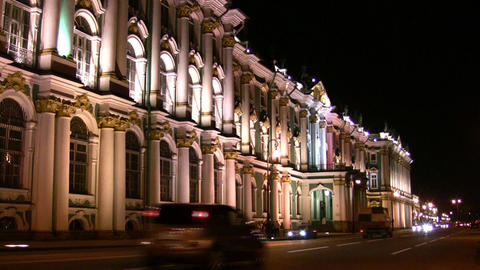 Petersburg Hermitage Stock Video Footage