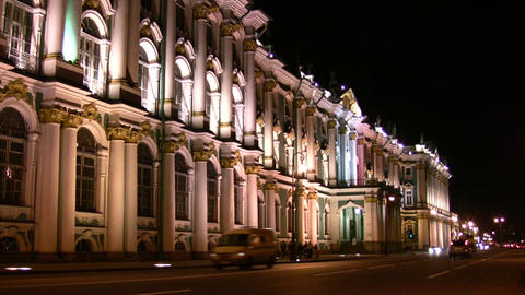 Petersburg Hermitage Footage