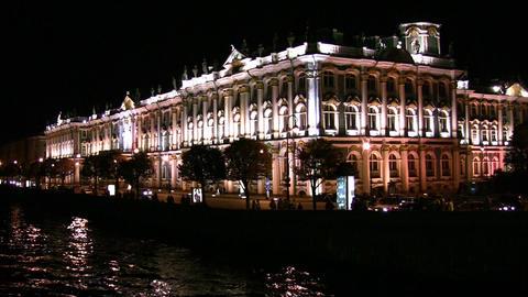Petersburg Hermitage Stock Video Footage