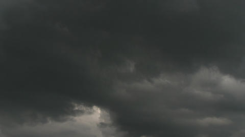Dramatic time lapse clouds Stock Video Footage