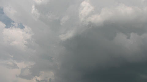 Dramatic time lapse clouds Footage