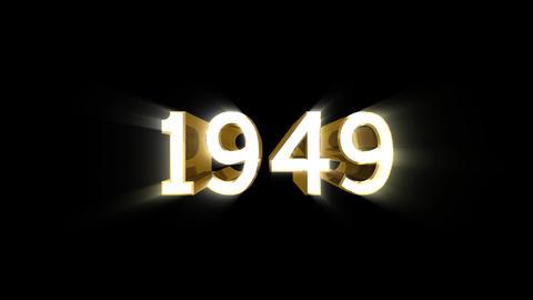 Year 1949 a HD Animation