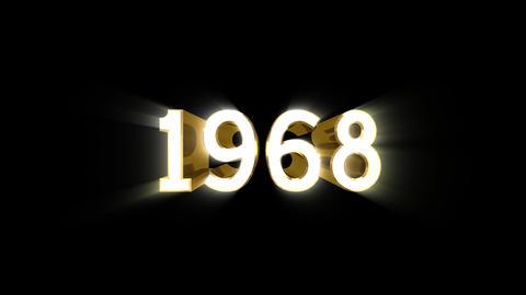 Year 1968 a HD Animation