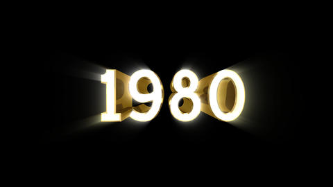 Year 1980 a HD Animation